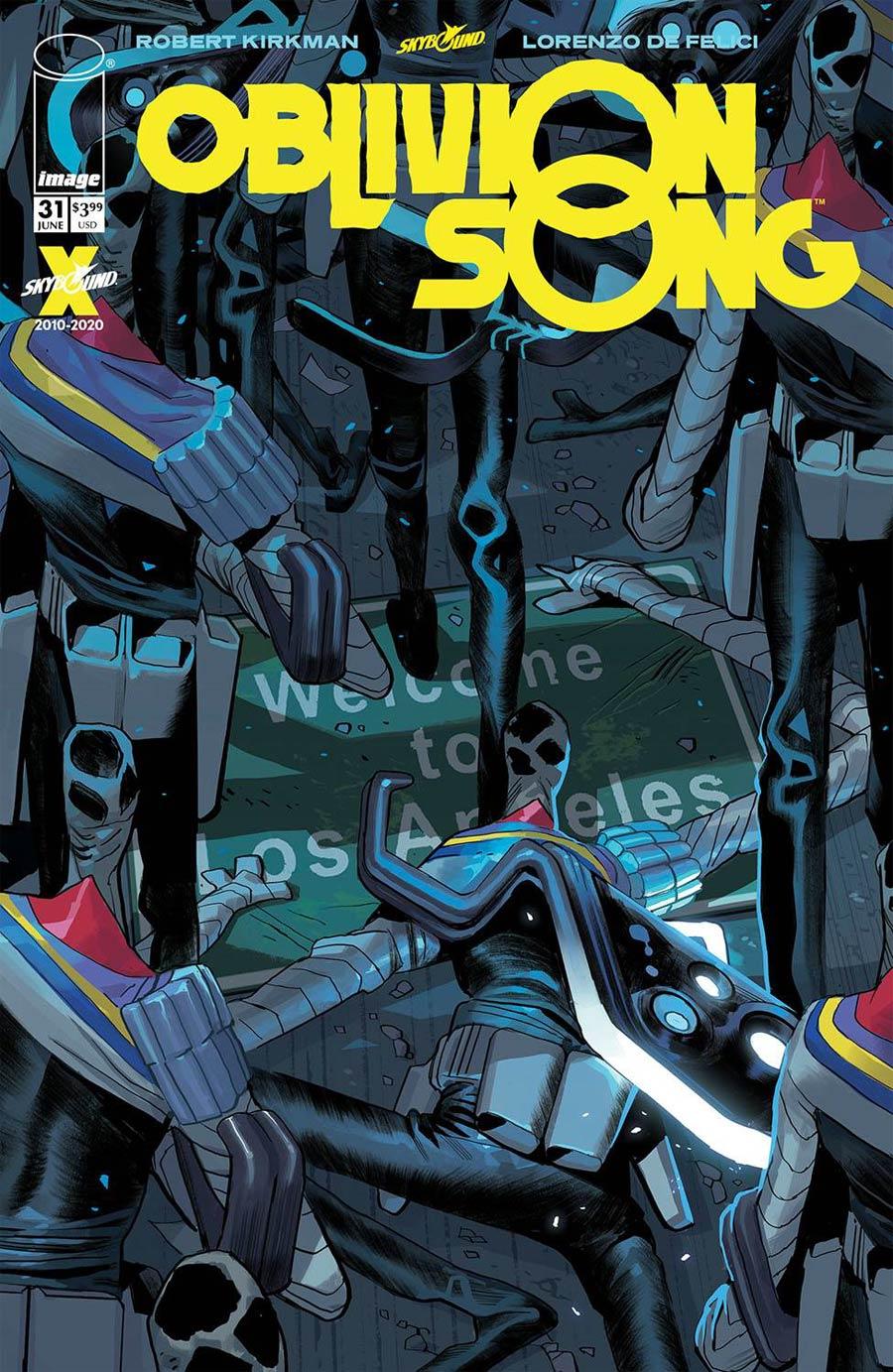 Oblivion Song By Kirkman & De Felici #31 Cover A Regular Lorenzo De Felici Cover