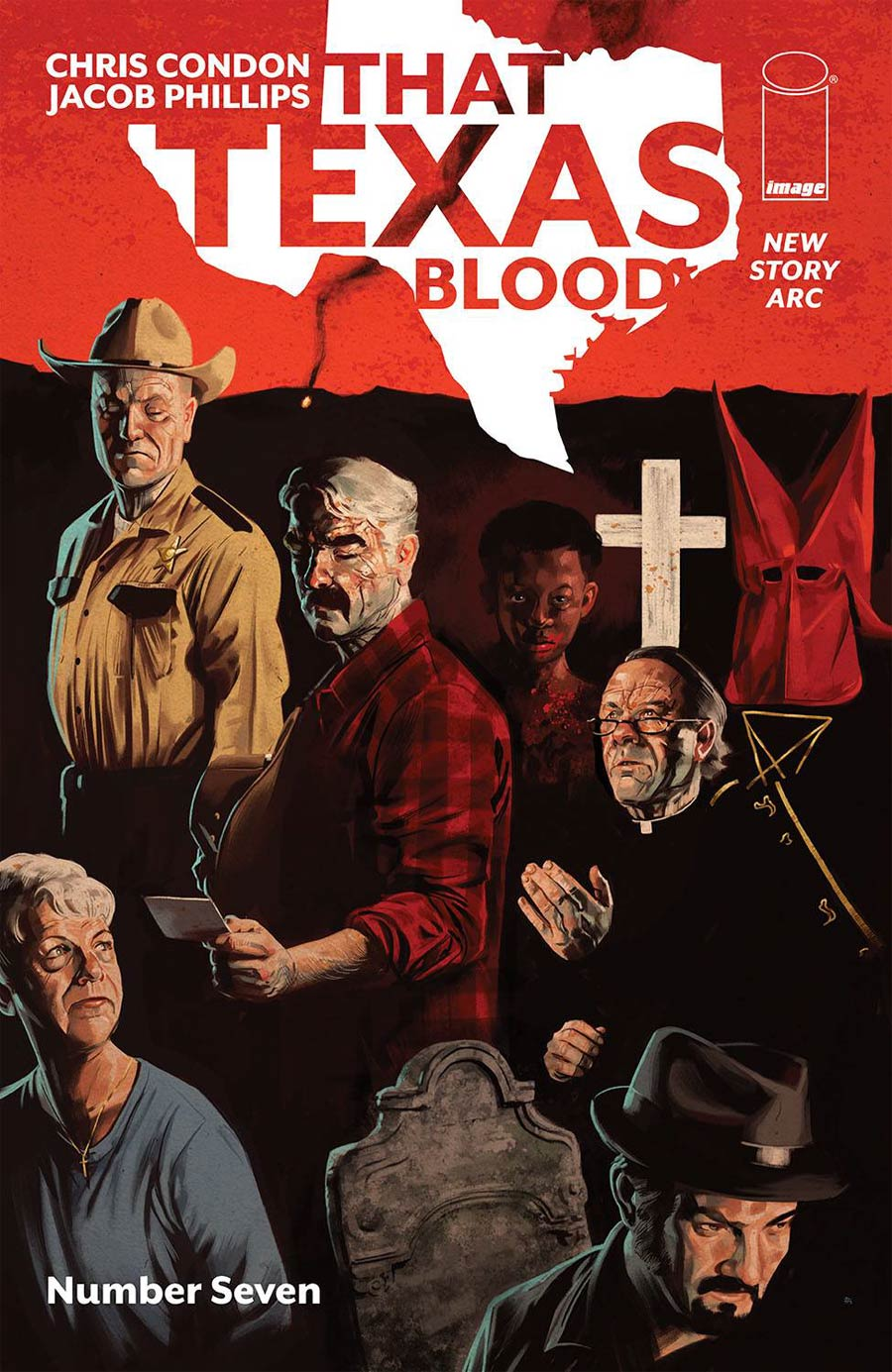 That Texas Blood #7 Cover A Regular Jacob Phillips Cover