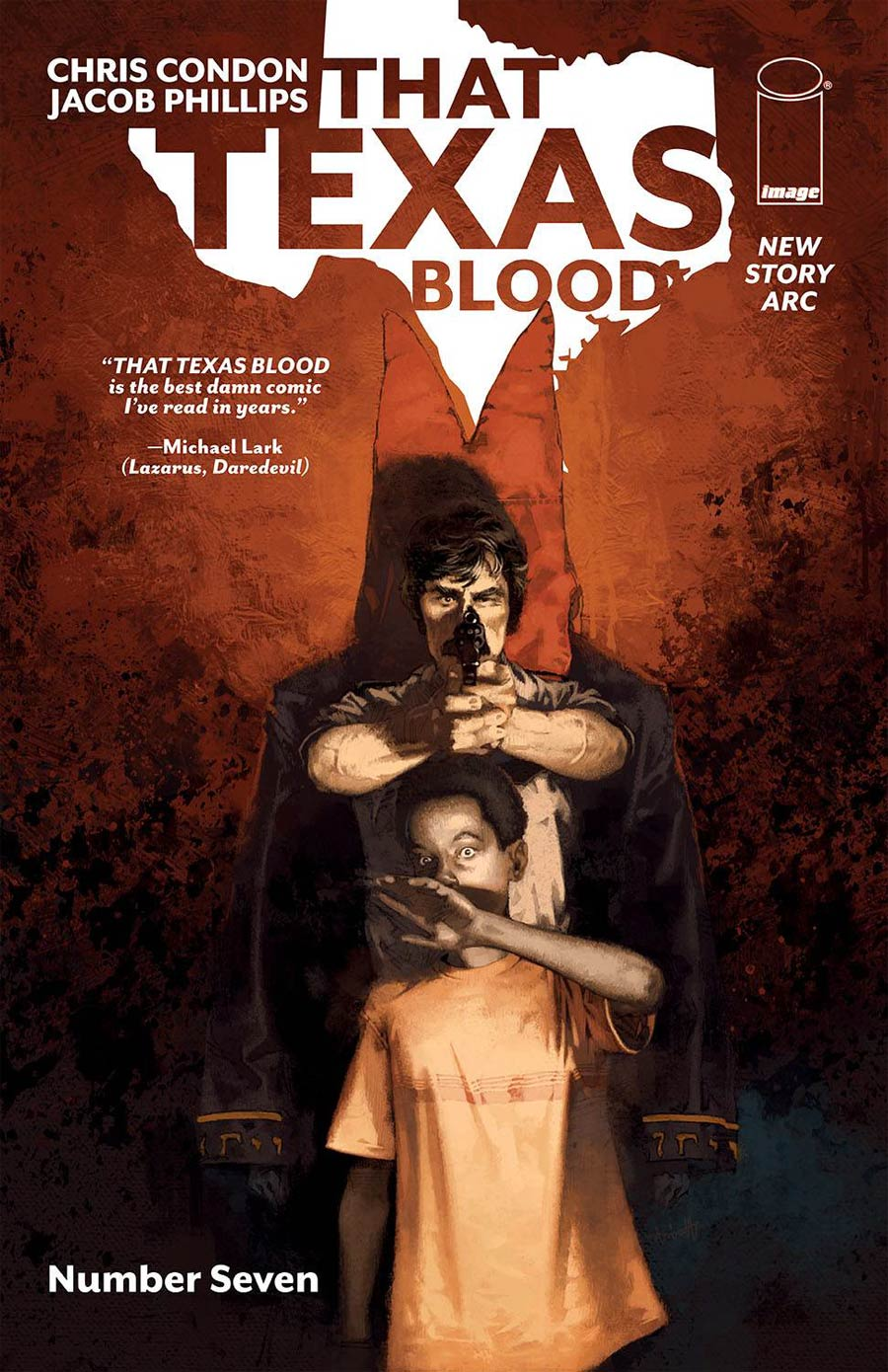 That Texas Blood #7 Cover B Variant Marc Aspinall Cover