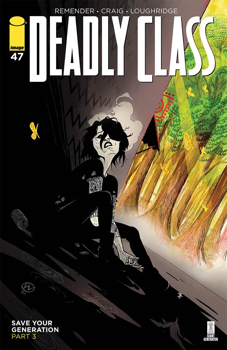 Deadly Class #47 Cover A Regular Wes Craig & Jason Wordie Cover