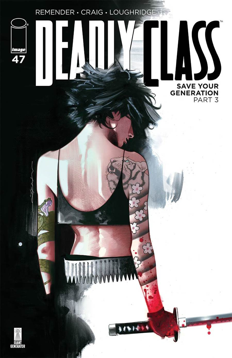 Deadly Class #47 Cover B Variant Jeff Dekal Cover