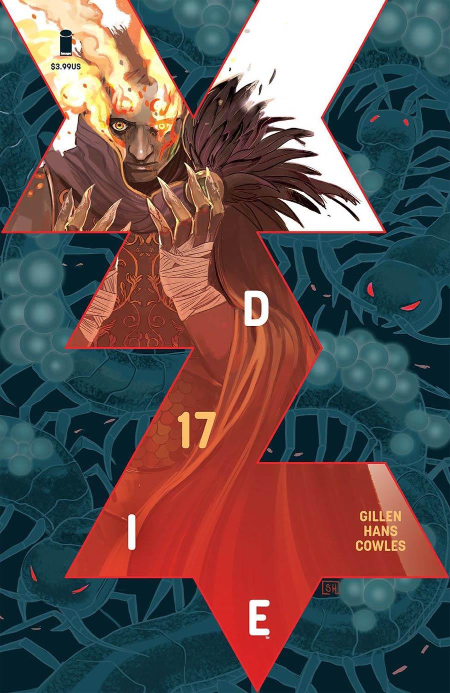 Die #17 Cover A Regular Stephanie Hans Cover