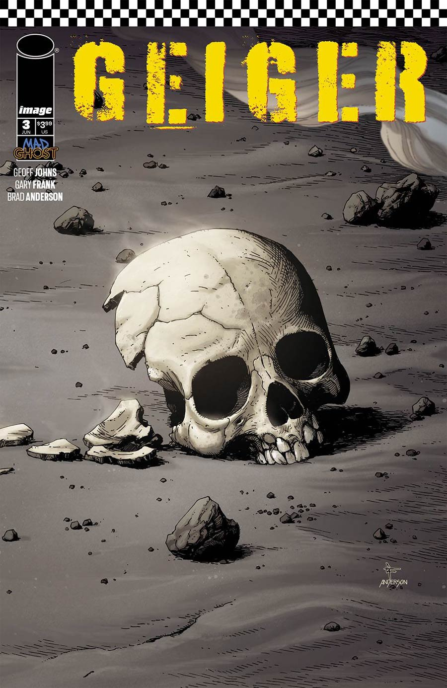 Geiger #3 Cover A Regular Gary Frank & Brad Anderson Cover