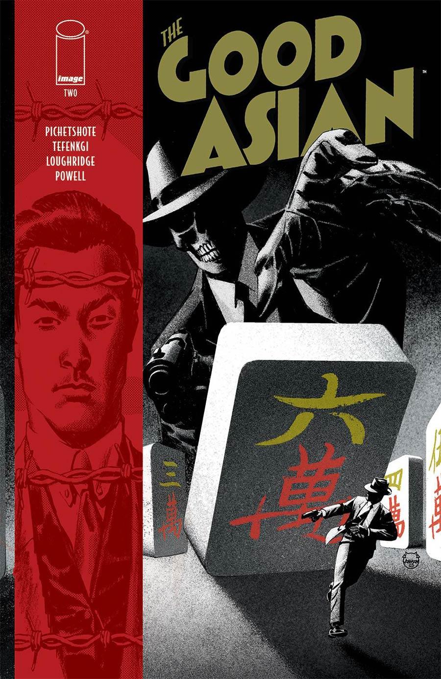Good Asian #2 Cover A Regular Dave Johnson Cover