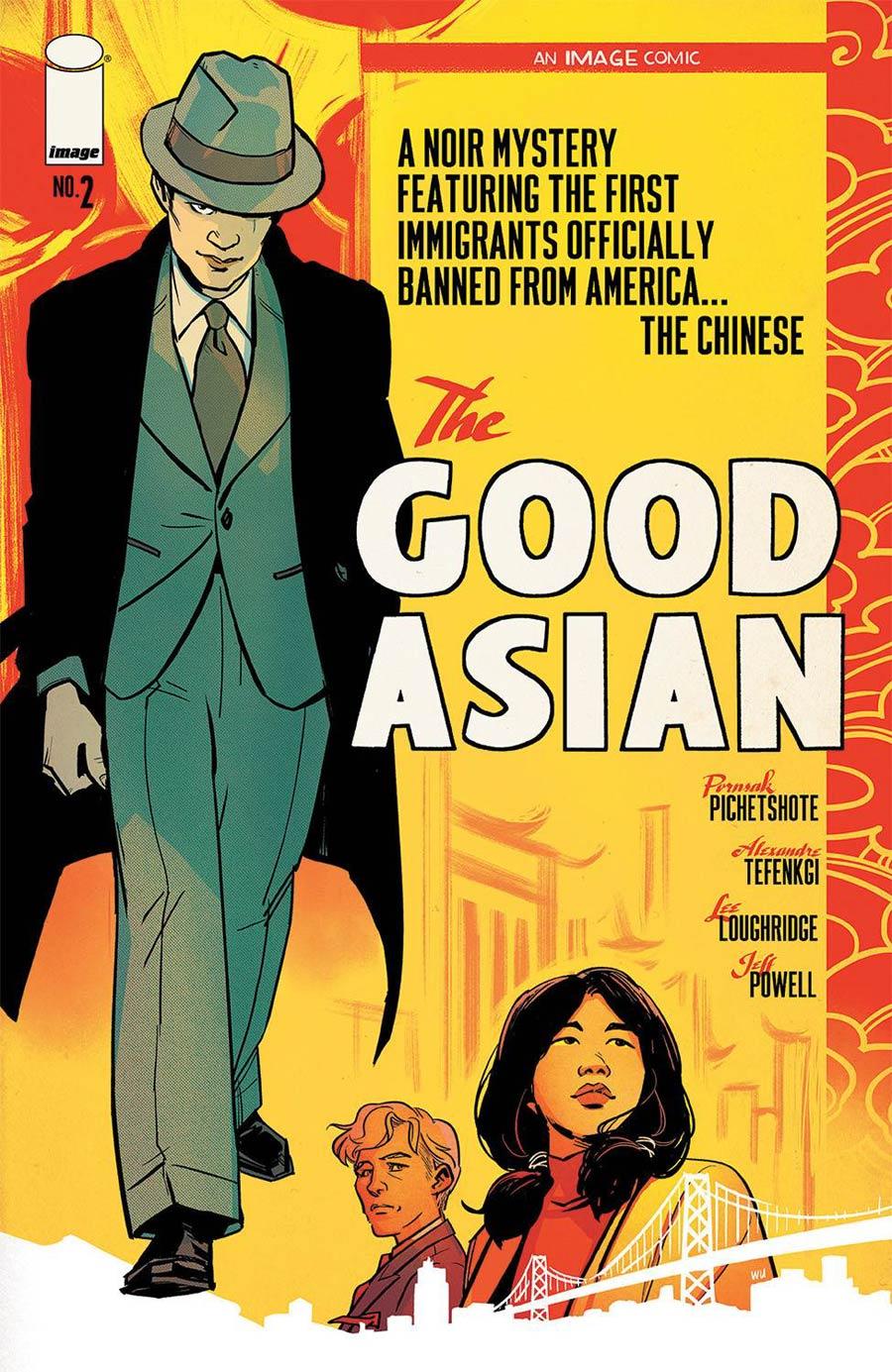Good Asian #2 Cover B Variant Annie Wu Cover