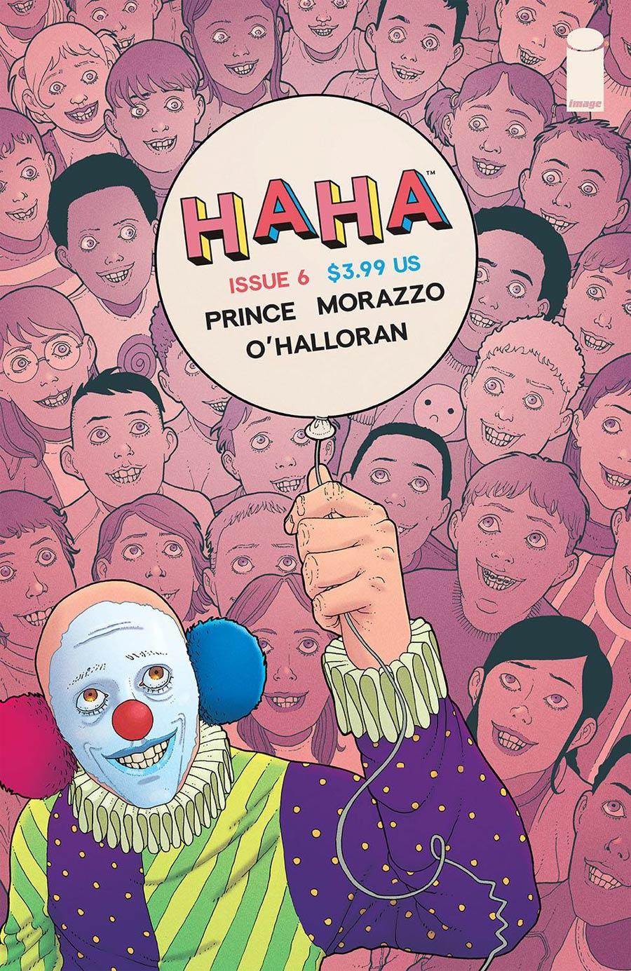 HAHA #6 Cover A Regular Martin Morazzo & Chris OHalloran Cover