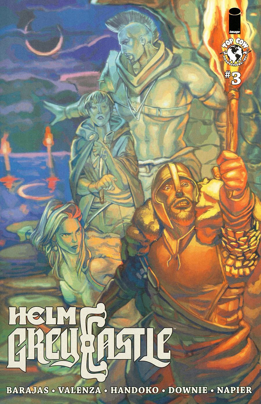 Helm Greycastle #3 Cover B Variant Gabriela Downie Cover