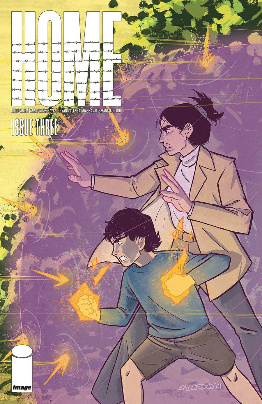 Home (Image Comics) #3 Cover B Variant Jacoby Salcedo Cover