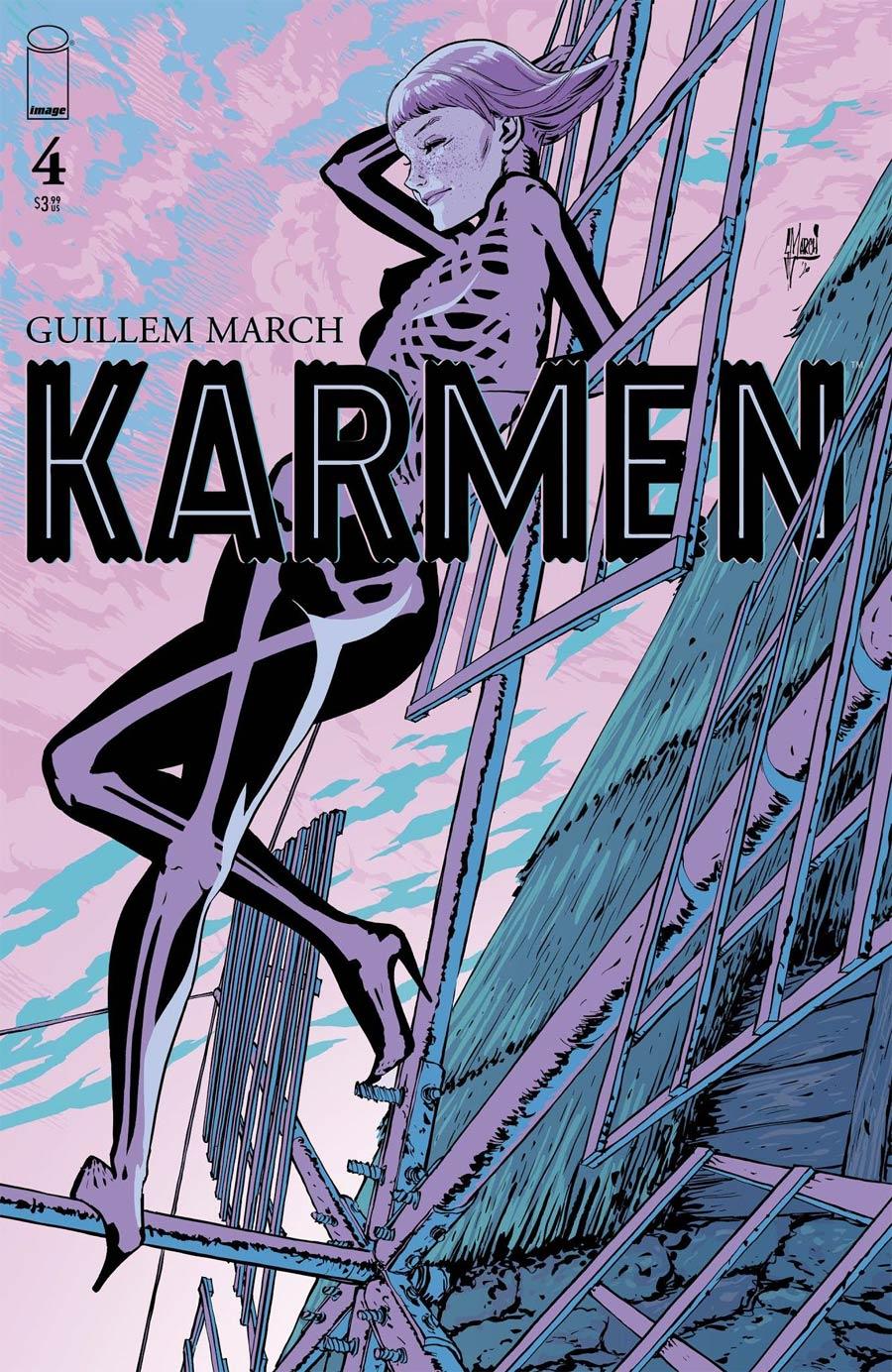 Karmen #4 Cover A Regular Guillem March Cover