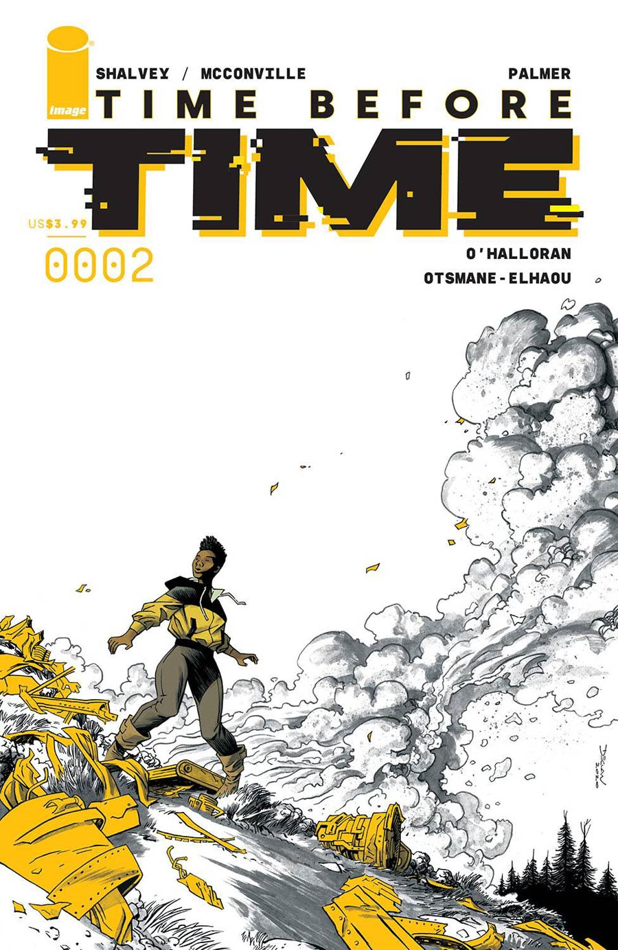 Time Before Time #2 Cover A Regular Declan Shalvey Cover