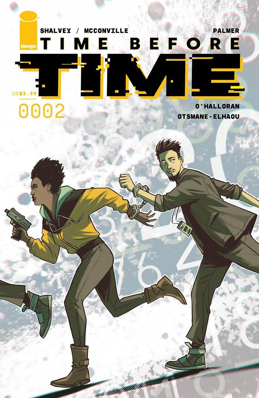 Time Before Time #2 Cover B Variant Caspar Wijngaard Cover