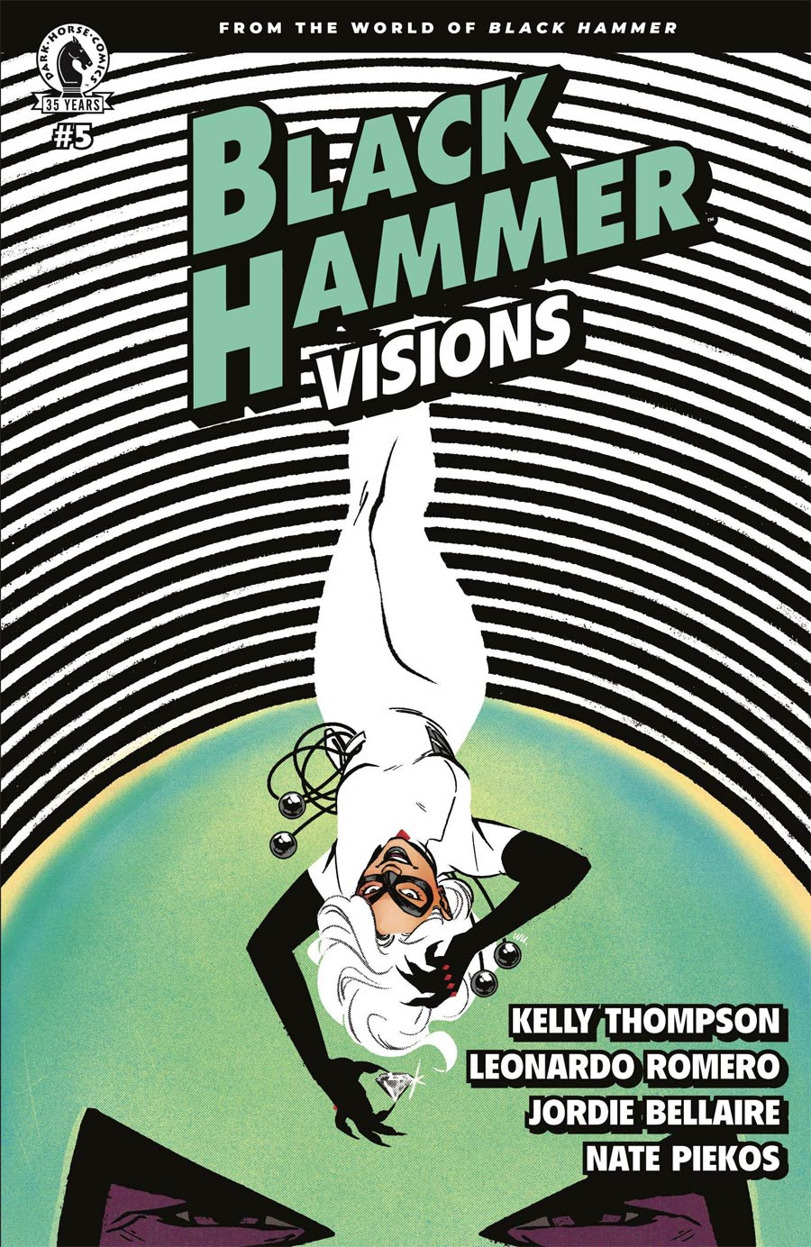 Black Hammer Visions #5 Cover B Variant Annie Wu Cover