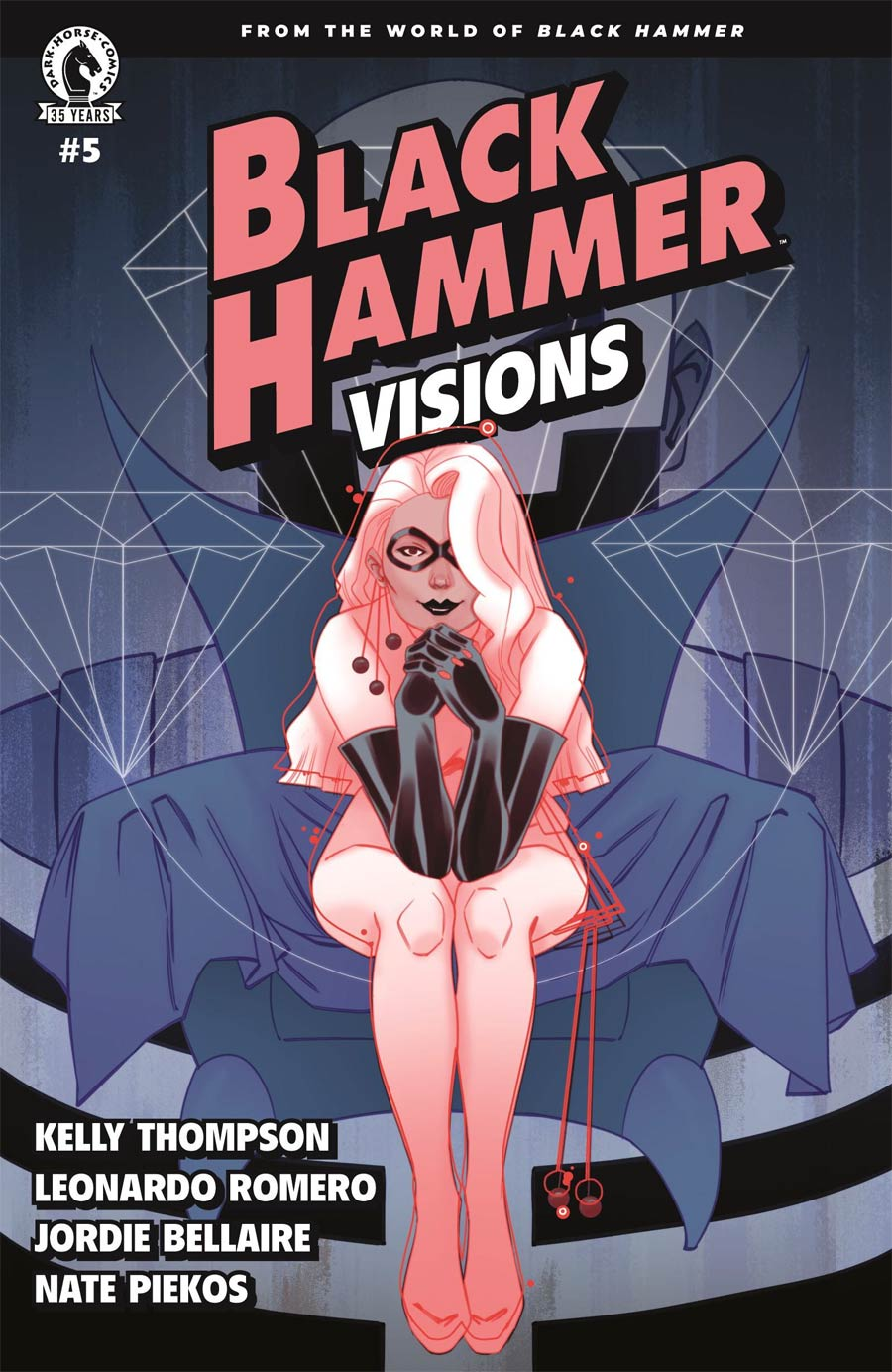 Black Hammer Visions #5 Cover C Variant Marguerite Sauvage Cover