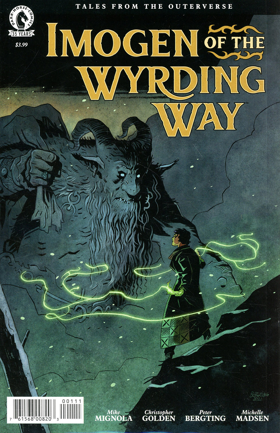 Imogen Of The Wyrding Way #1 (One Shot) Cover A Regular Peter Bergting Cover