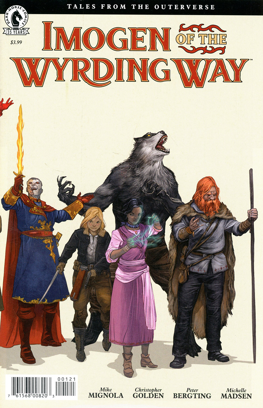 Imogen Of The Wyrding Way #1 (One Shot) Cover B Variant Peter Bergting Cover