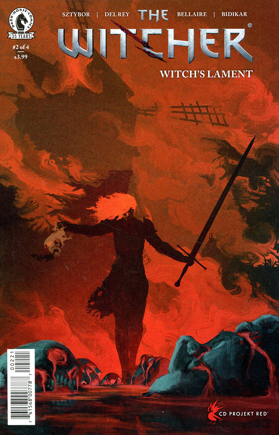 Witcher Witchs Lament #2 Cover B Variant Anato Finnstark Cover