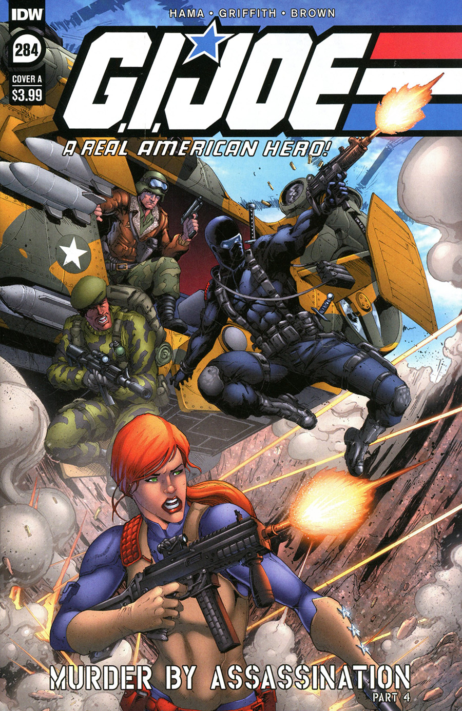 GI Joe A Real American Hero #284 Cover A Regular Andrew Griffith Cover