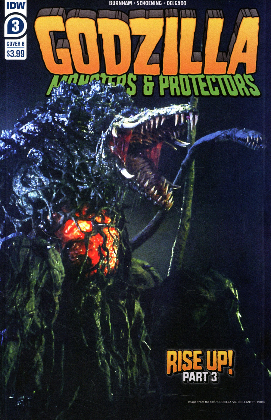 Godzilla Monsters & Protectors #3 Cover B Variant Photo Cover