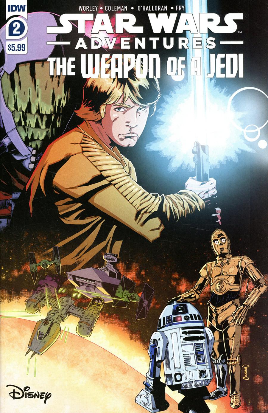 Star Wars Adventures Weapon Of A Jedi #2