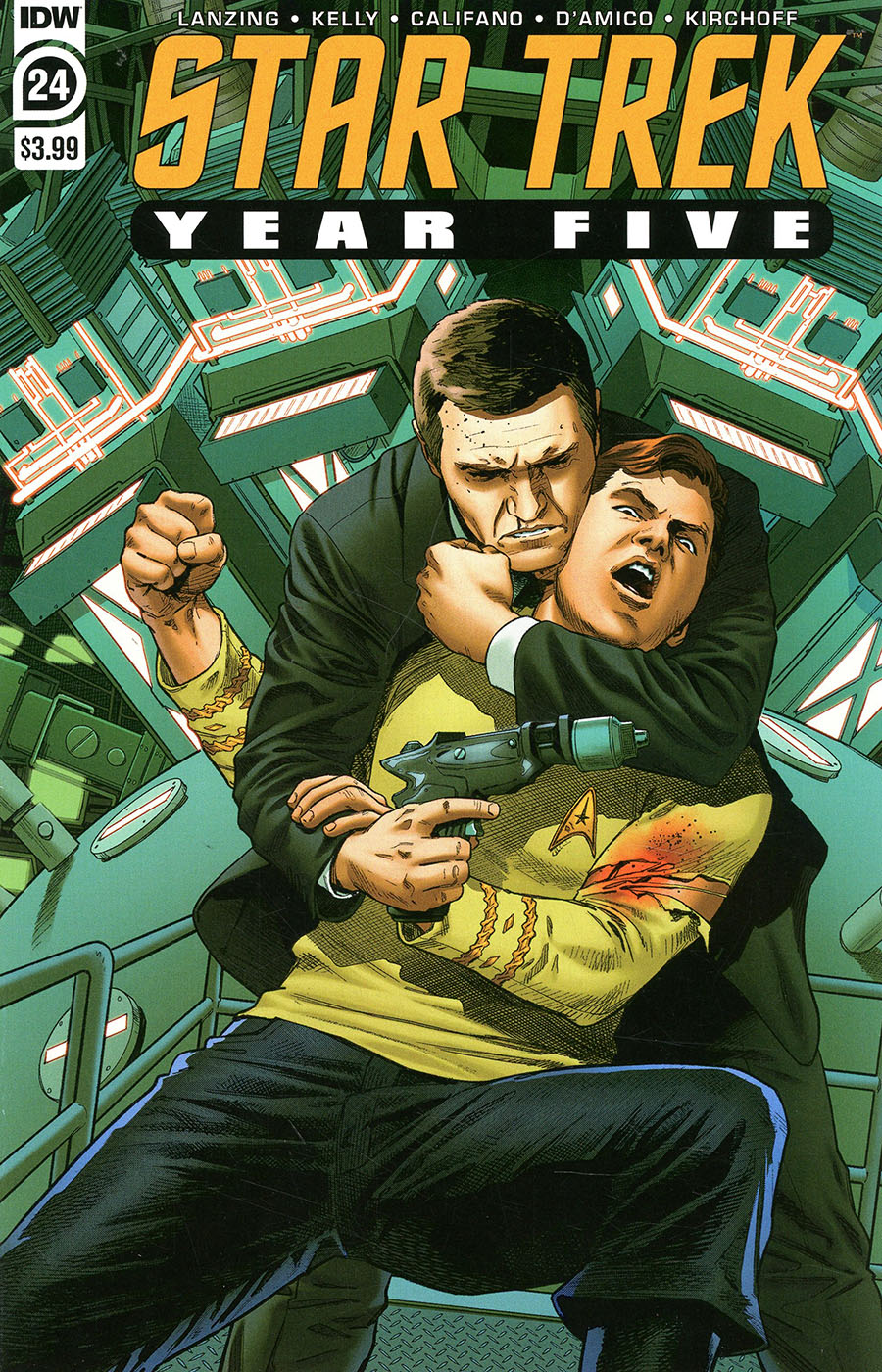 Star Trek Year Five #24 Cover A Regular Stephen Thompson Cover