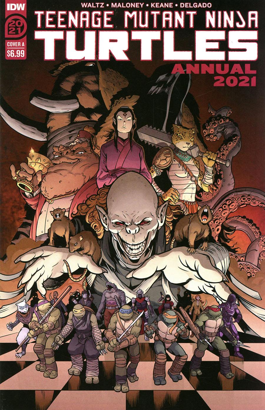 Teenage Mutant Ninja Turtles Vol 5 Annual 2021 Cover A Regular Casey Maloney Cover