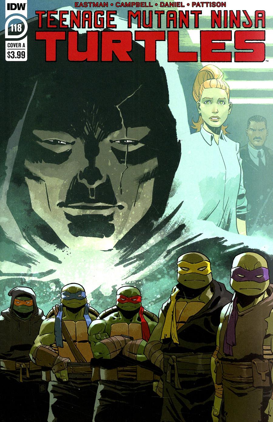 Teenage Mutant Ninja Turtles Vol 5 #118 Cover A Regular Nelson Daniel Cover