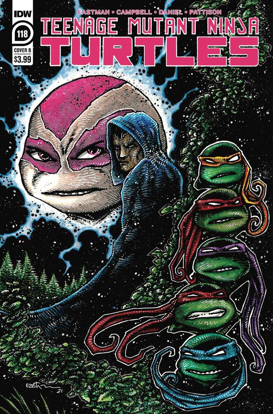 Teenage Mutant Ninja Turtles Vol 5 #118 Cover B Variant Kevin Eastman Cover