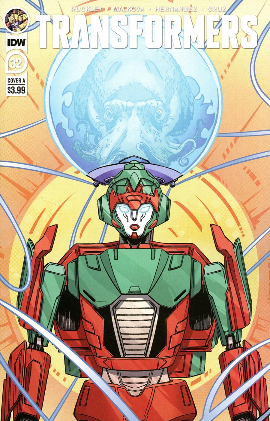 Transformers Vol 4 #32 Cover A Regular Umi Miyao Cover
