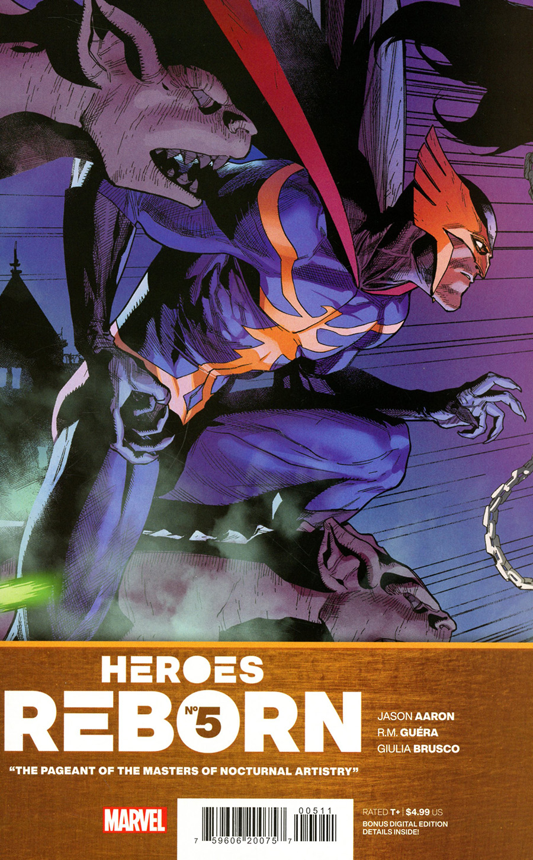 Heroes Reborn #5 Cover A Regular Leinil Francis Yu Cover