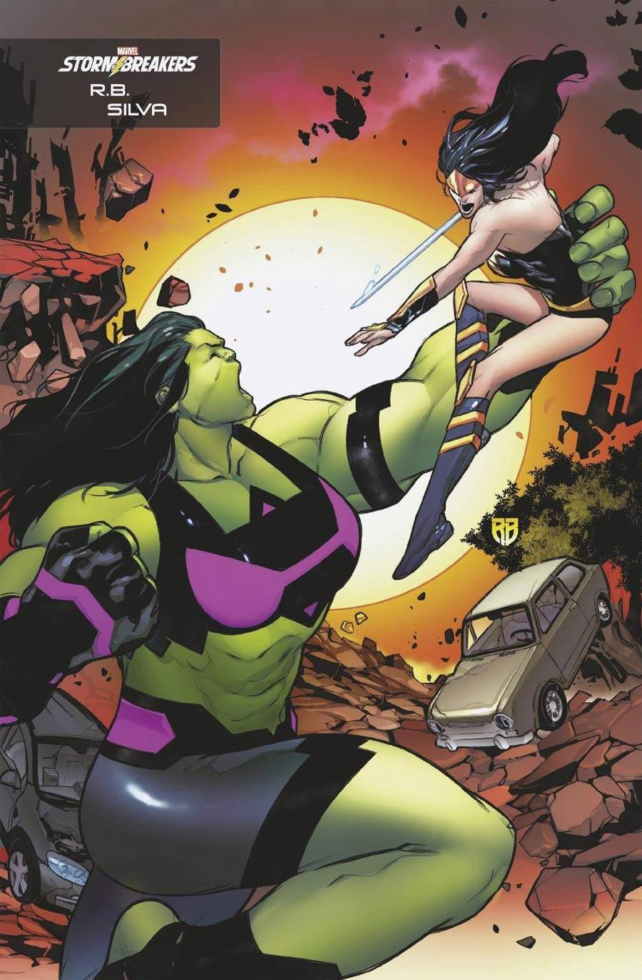 Heroes Reborn #6 Cover D Variant RB Silva Stormbreakers Cover