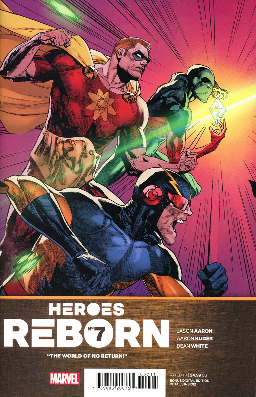 Heroes Reborn #7 Cover A Regular Leinil Francis Yu Cover