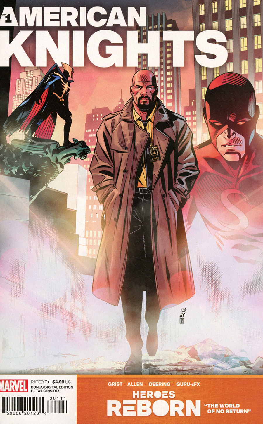 Heroes Reborn American Knights #1 (One Shot) Cover A Regular Chris Sprouse Cover