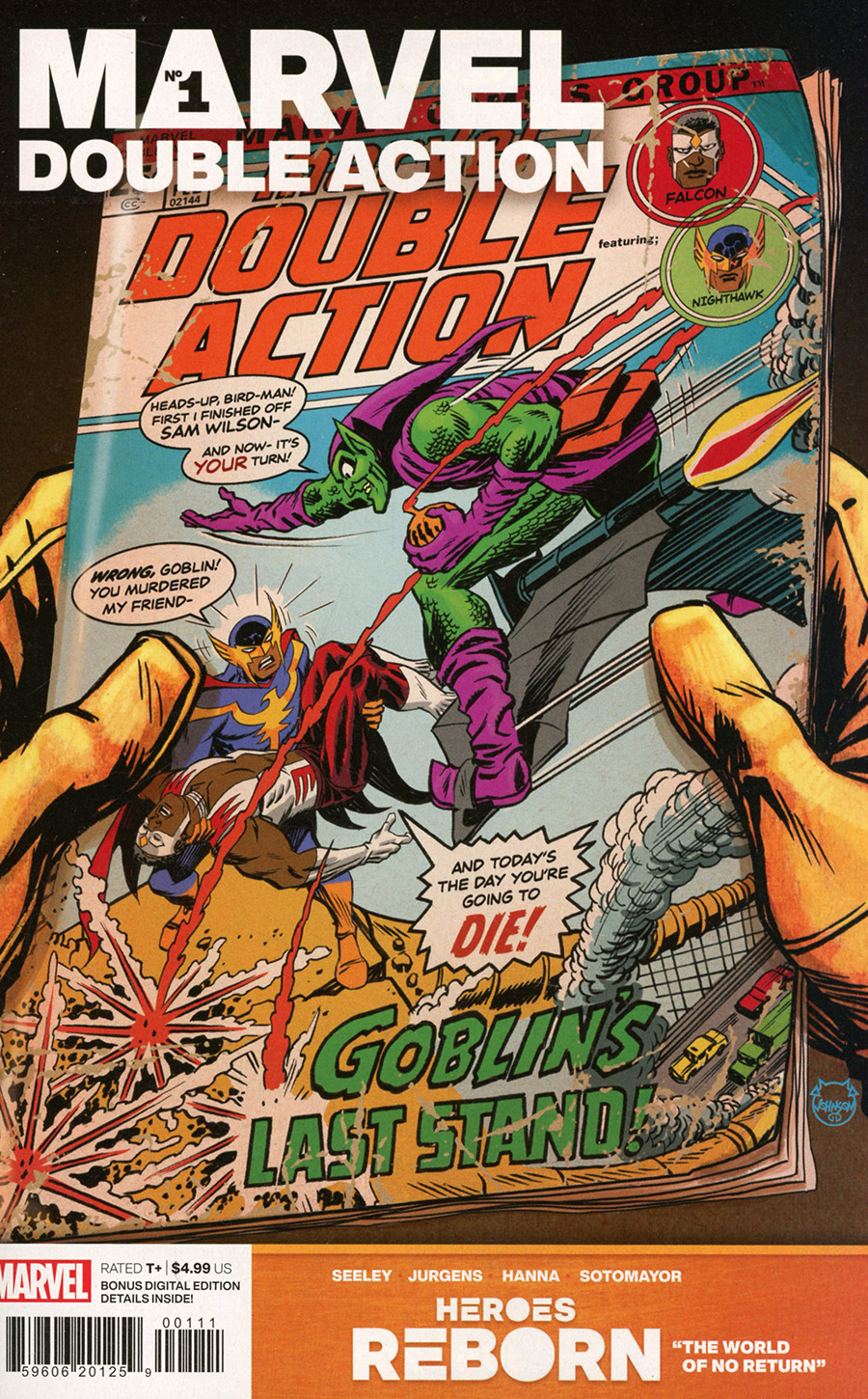 Heroes Reborn Marvel Double Action #1 (One Shot) Cover A Regular Dave Johnson Cover