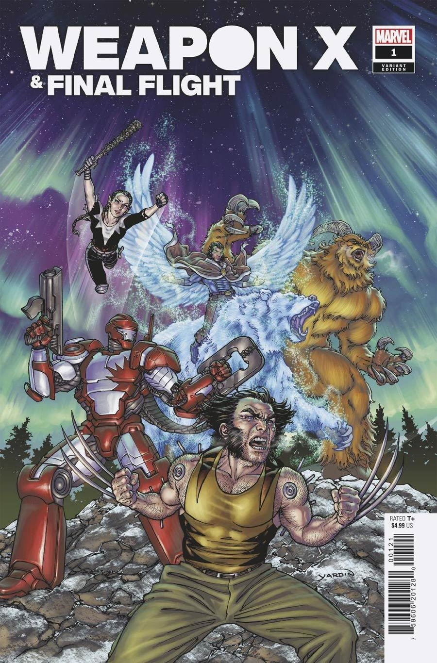 Heroes Reborn Weapon X And Final Flight #1 (One Shot) Cover B Variant David Yardin Cover