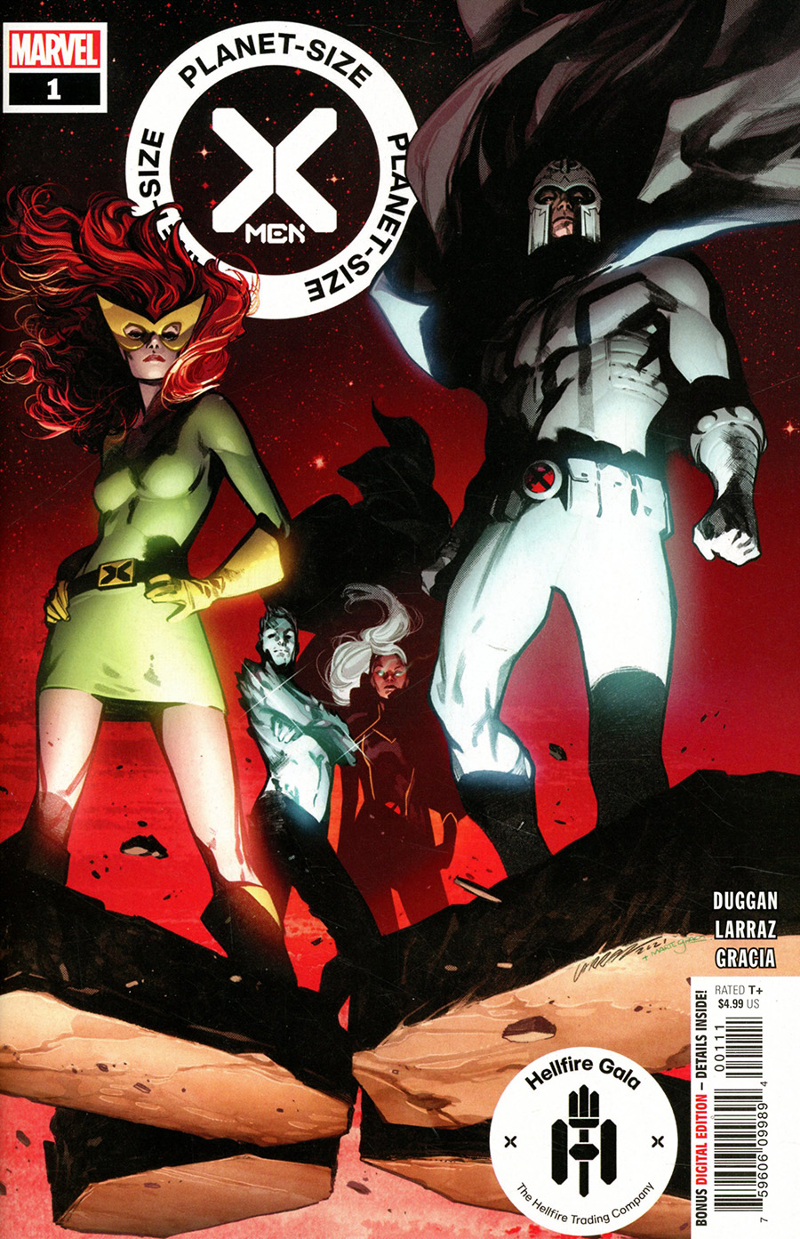 Planet-Size X-Men #1 (One Shot) Cover A Regular Pepe Larraz Cover (Hellfire Gala Tie-In)