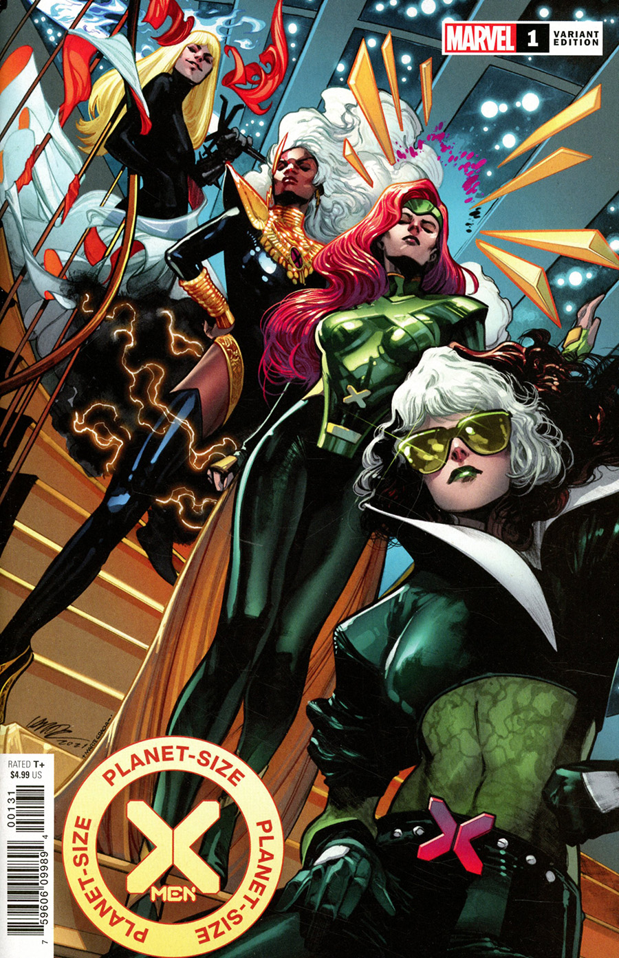 Planet-Size X-Men #1 (One Shot) Cover D Variant Pepe Larraz Cover (Hellfire Gala Tie-In)