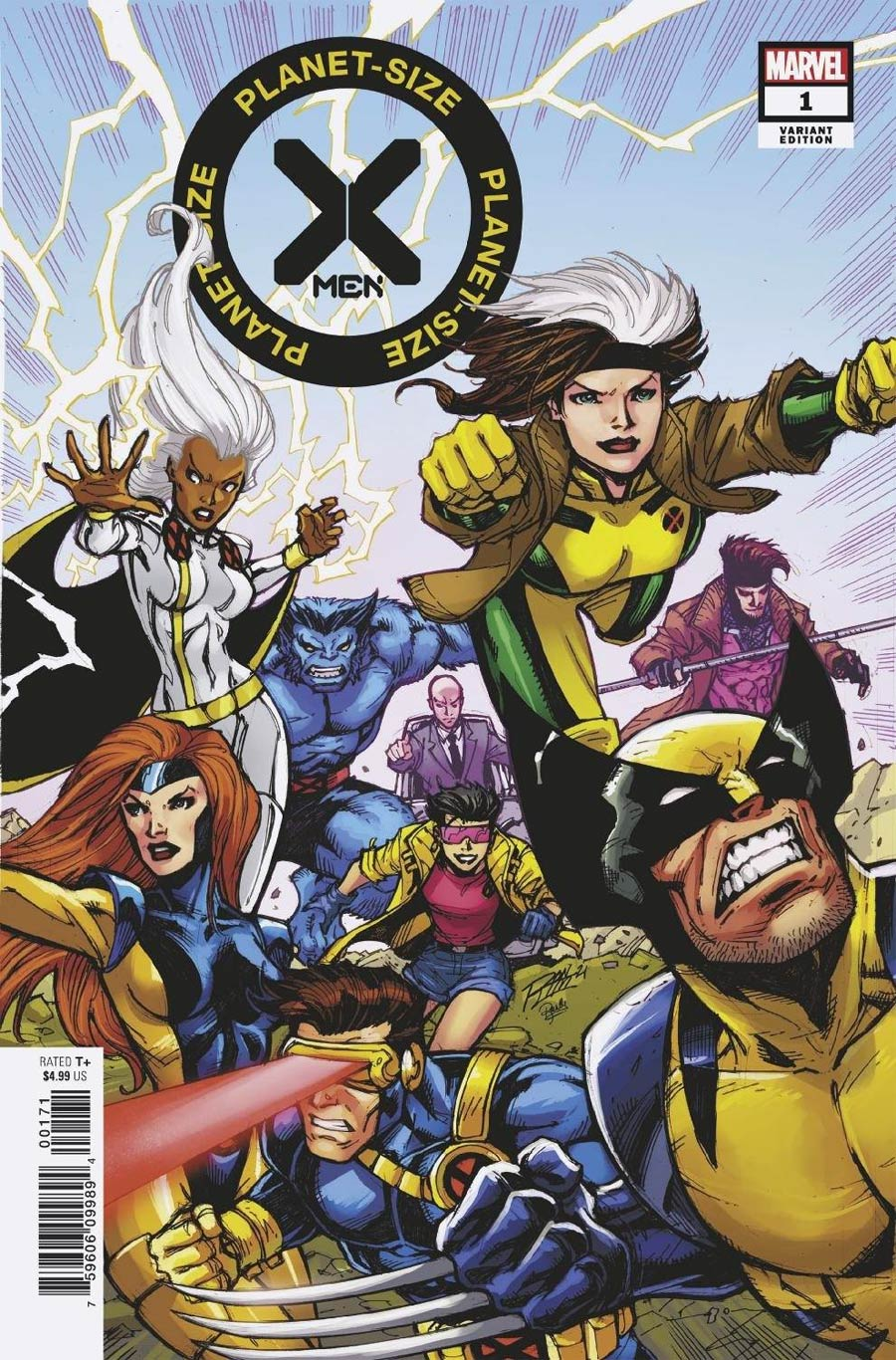 Planet-Size X-Men #1 (One Shot) Cover C Variant Ron Lim X-Men 90s Cover (Hellfire Gala Tie-In)