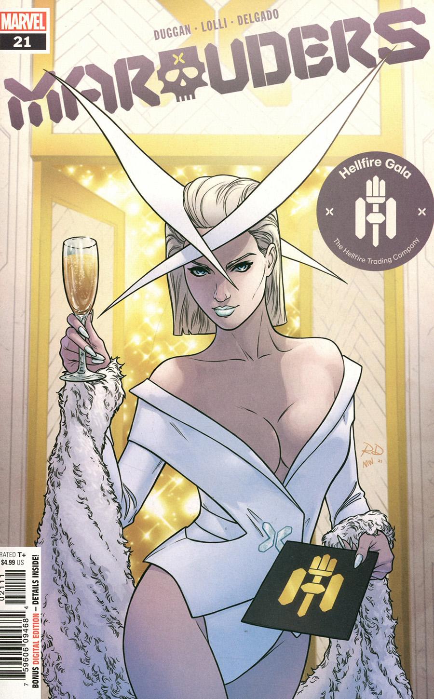 Marauders #21 Cover A Regular Russell Dauterman Cover (Hellfire Gala Tie-In)