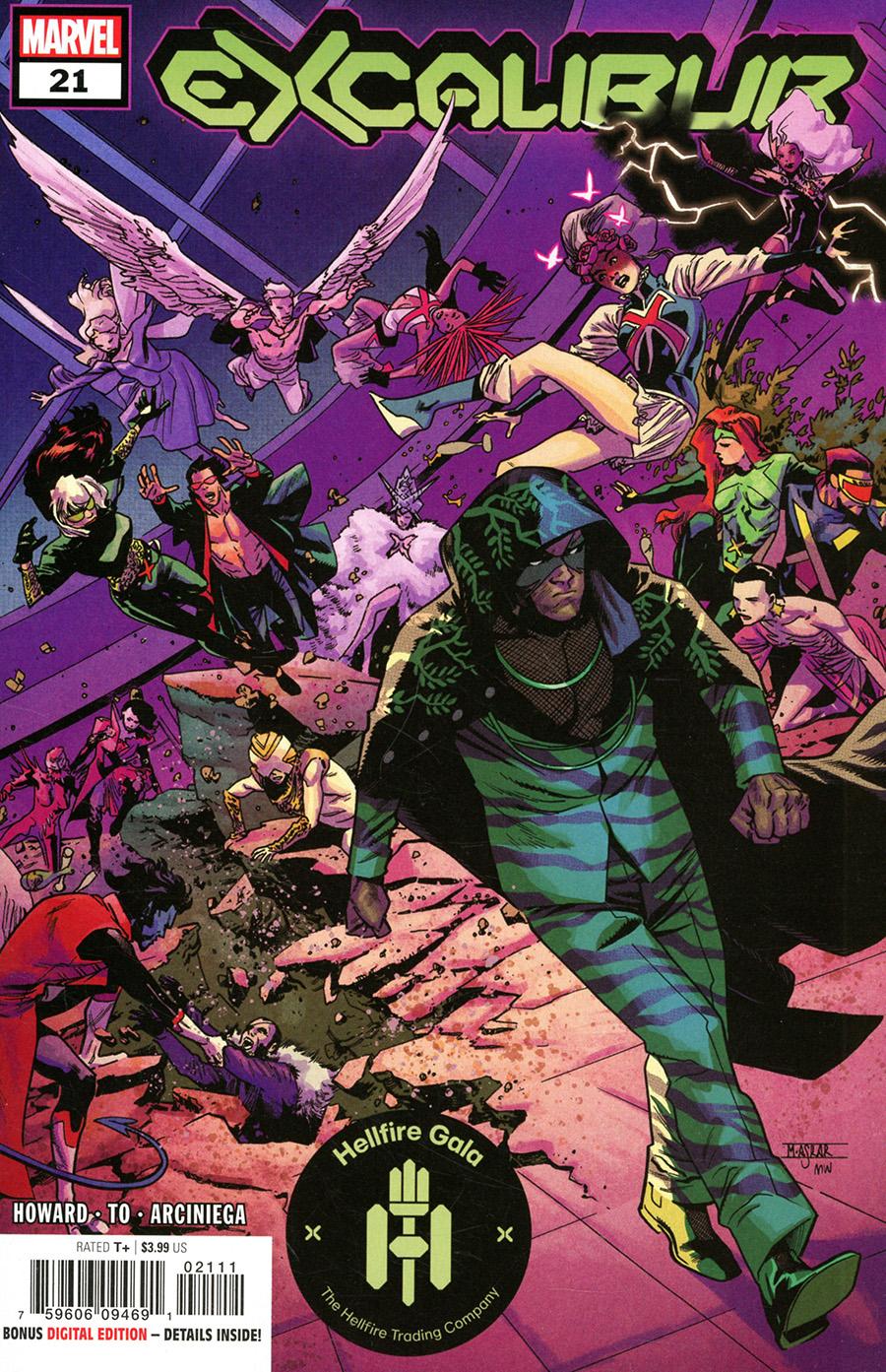 Excalibur Vol 4 #21 Cover A Regular Mahmud Asrar Cover (Hellfire Gala Tie-In)