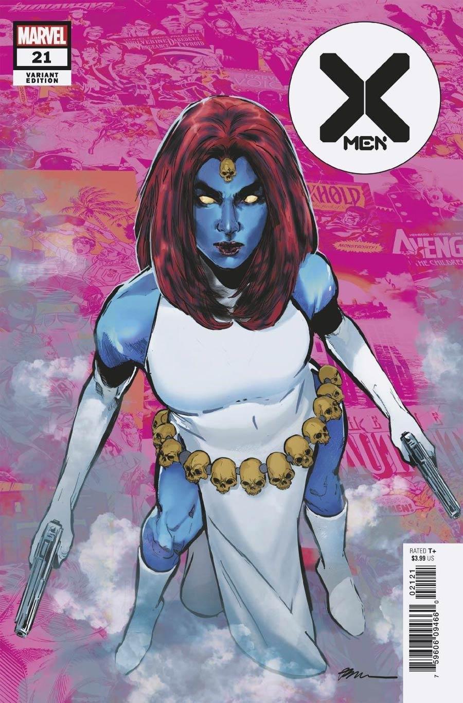 X-Men Vol 5 #21 Cover C Variant Phil Jimenez Pride Month Cover (Hellfire Gala Tie-In)
