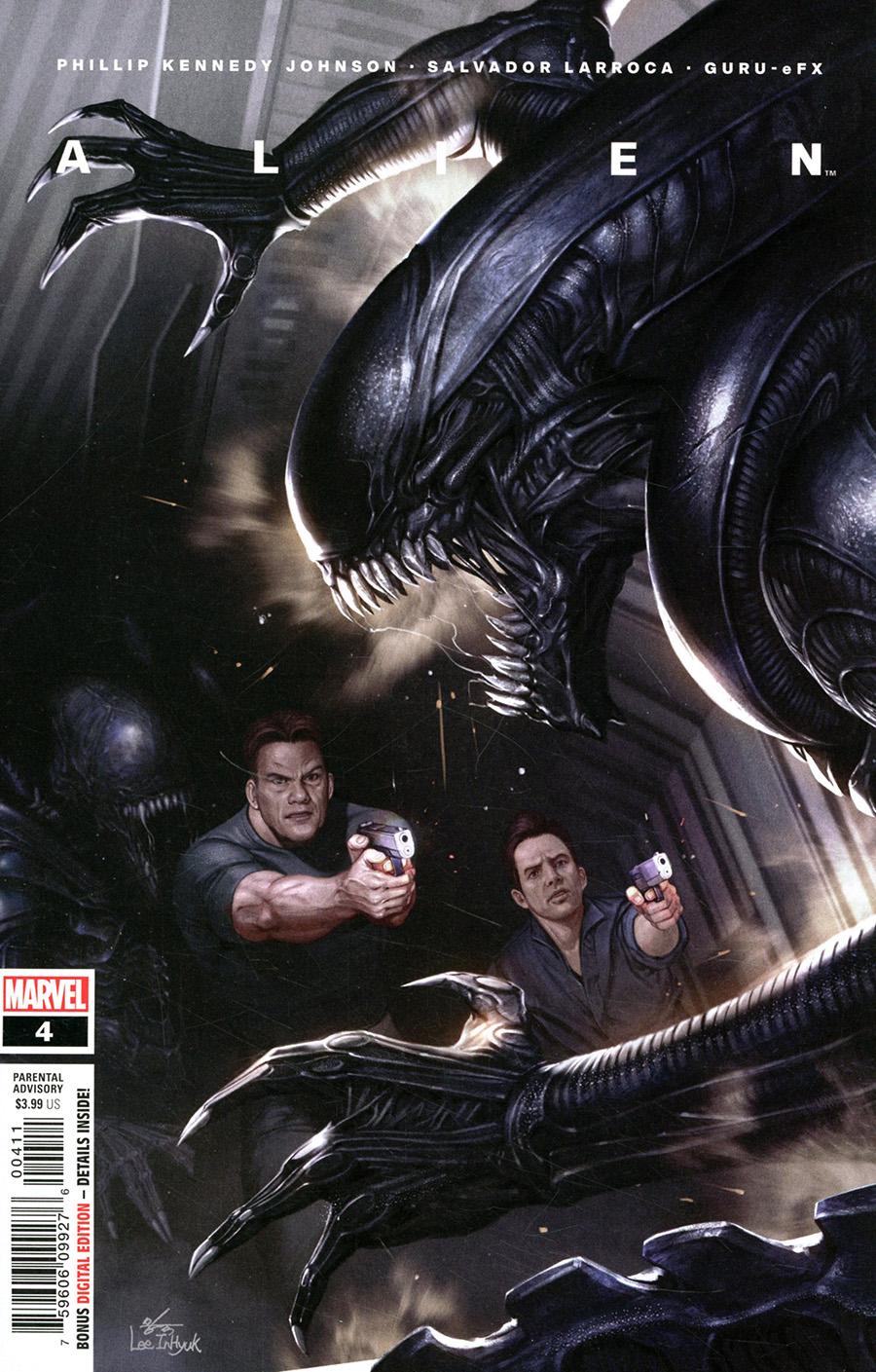 Alien #4 Cover A Regular Inhyuk Lee Cover
