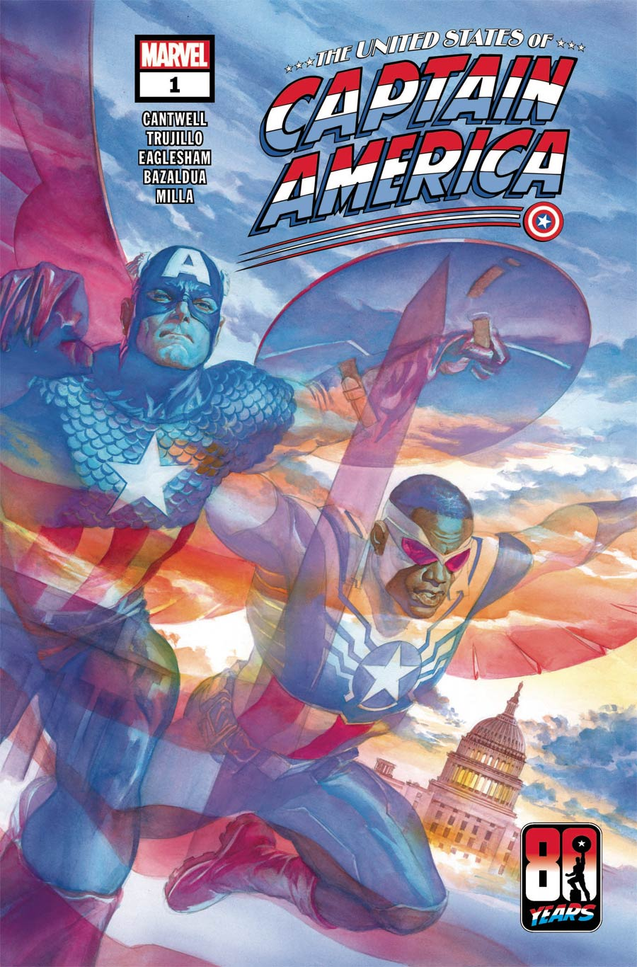 United States Of Captain America #1 Cover A Regular Alex Ross Cover