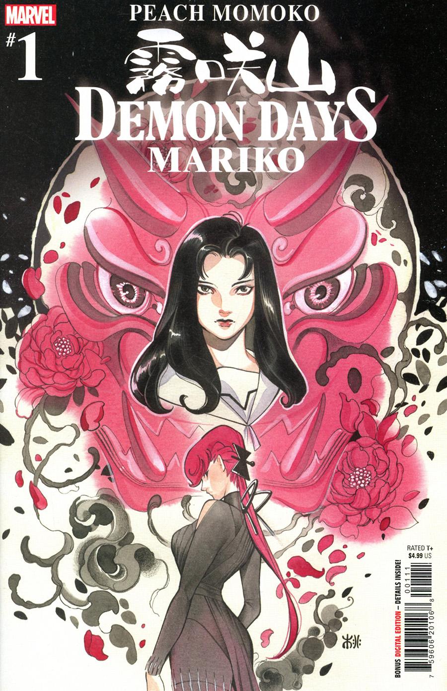 Demon Days Mariko #1 (One Shot) Cover A Regular Peach Momoko Cover