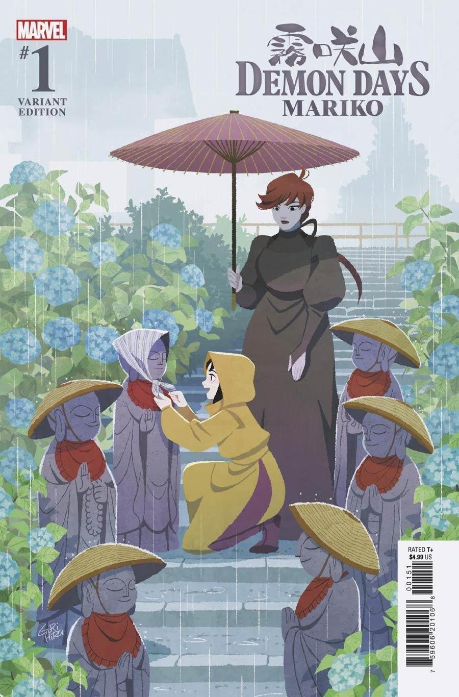 Demon Days Mariko #1 (One Shot) Cover B Variant Gurihiru Cover
