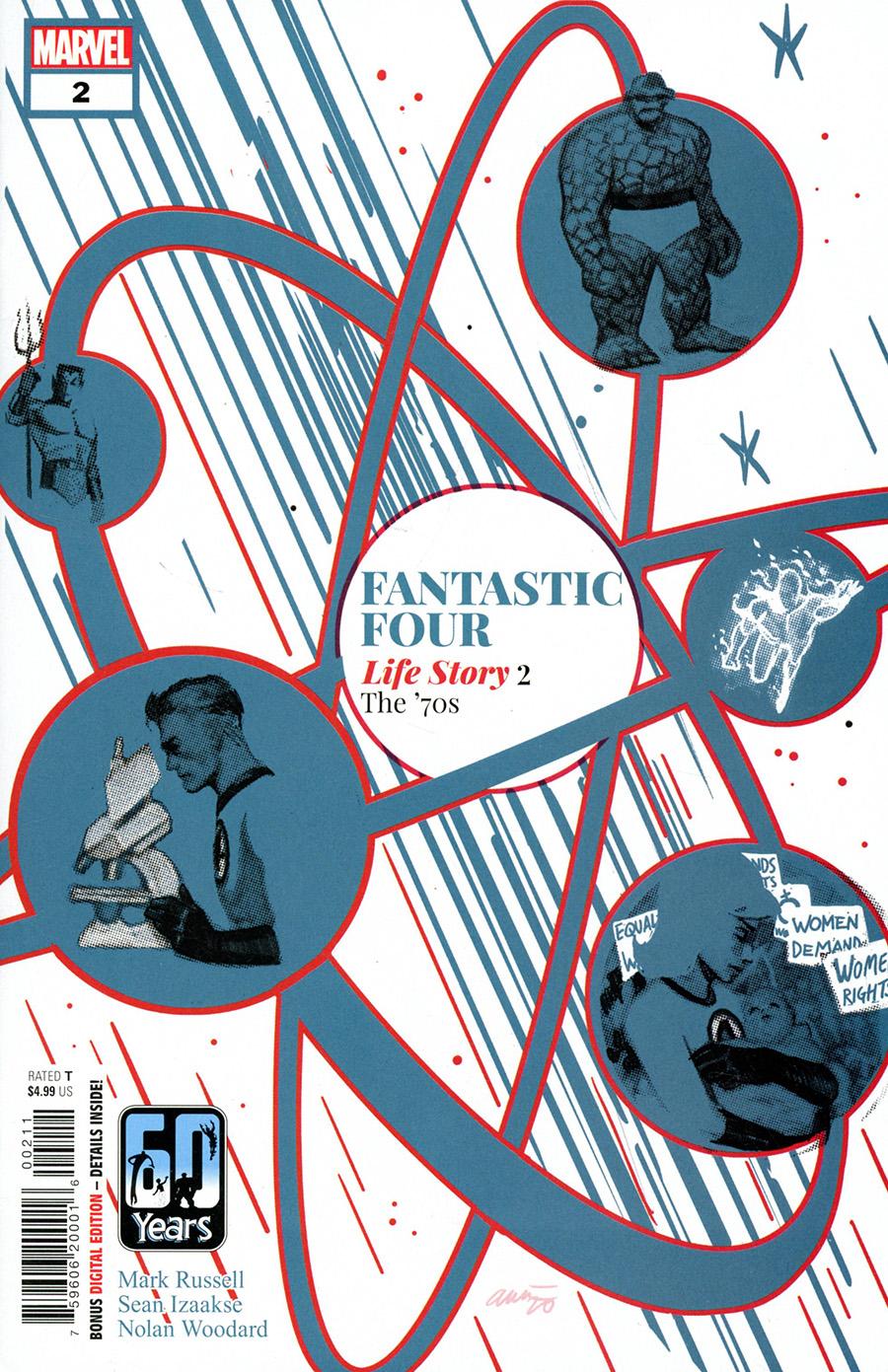 Fantastic Four Life Story #2 Cover A Regular Daniel Acuna Cover