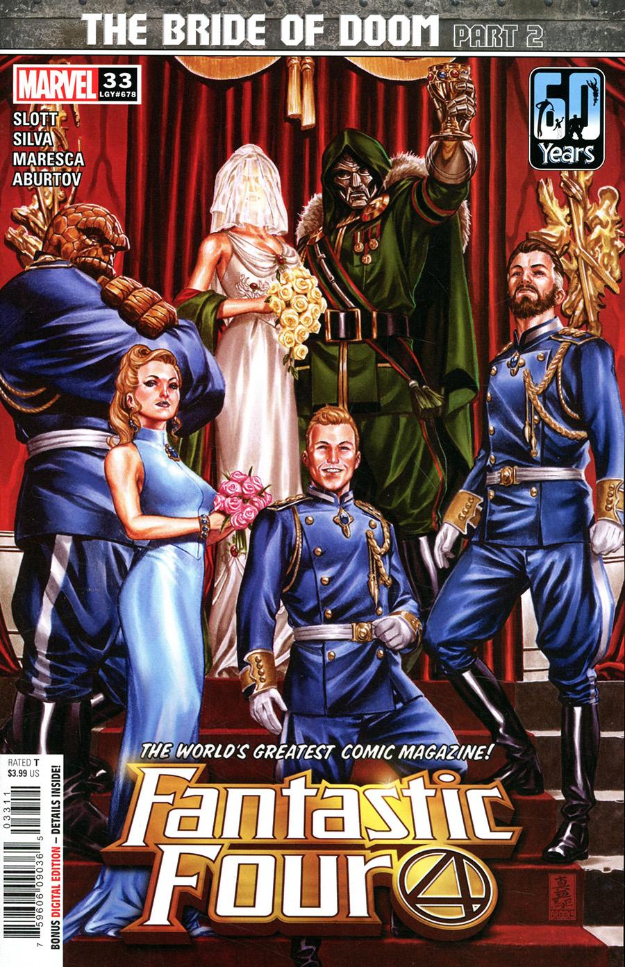Fantastic Four Vol 6 #33 Cover A Regular Mark Brooks Cover