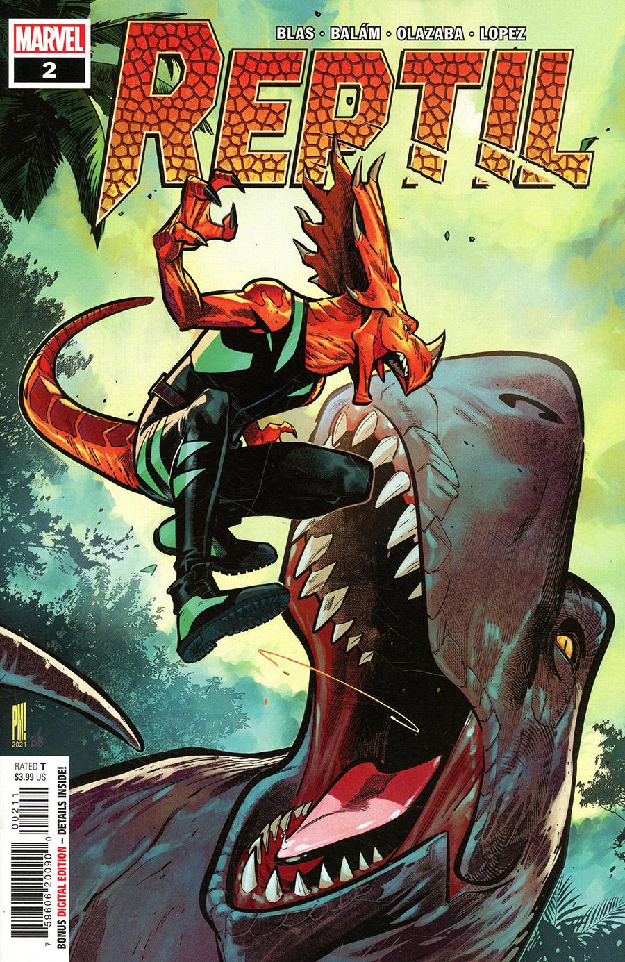 Reptil #2 Cover A Regular Paco Medina Cover