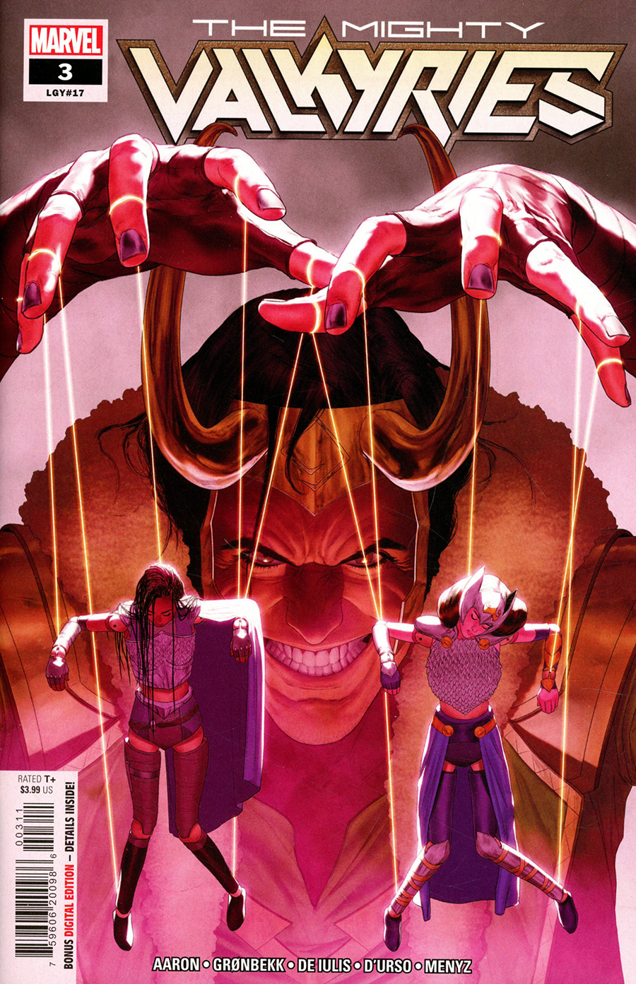 Mighty Valkyries #3 Cover A Regular Mattia De Iulis Cover