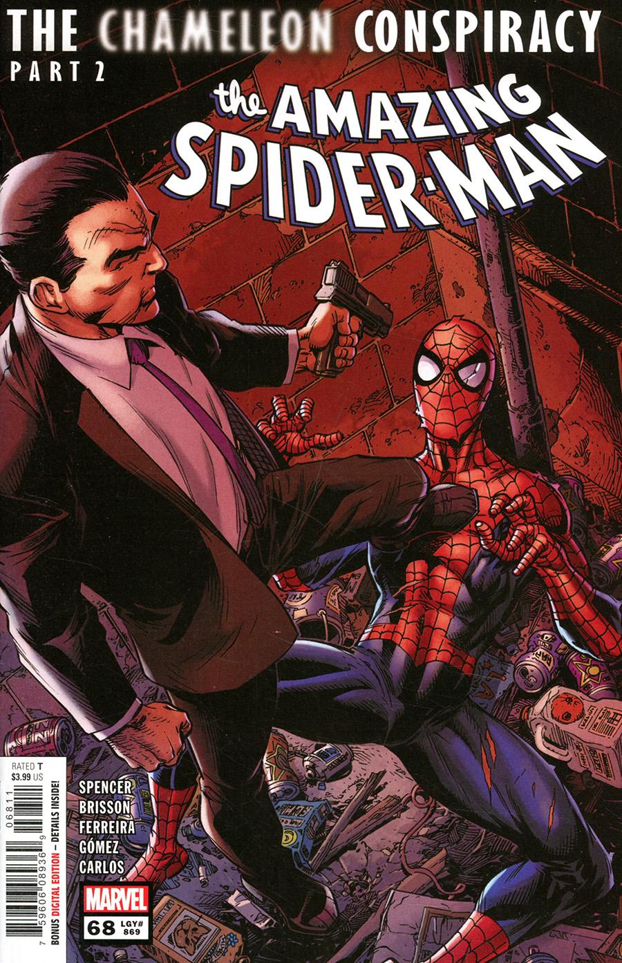 Amazing Spider-Man Vol 5 #68 Cover A Regular Mark Bagley Cover