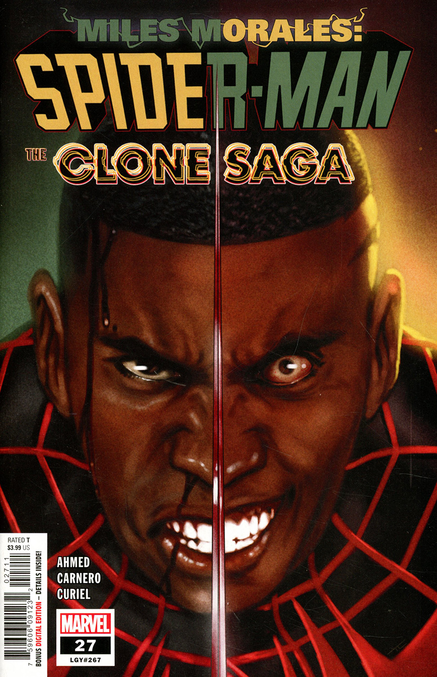 Miles Morales Spider-Man #27 Cover A Regular Taurin Clarke Cover
